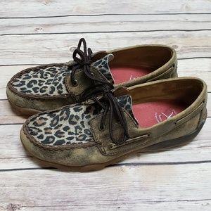 Twisted X Shoe Cheetah